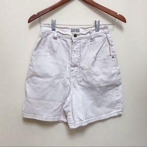 🌻French Dressing   Cream Midi Cotton Shorts